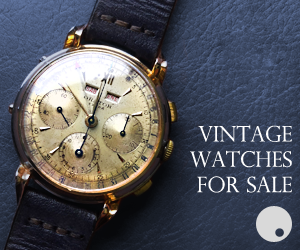Tabletop Vintage Watches