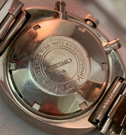 Seiko 6138 UFO / Yachtman Reference Guide 50