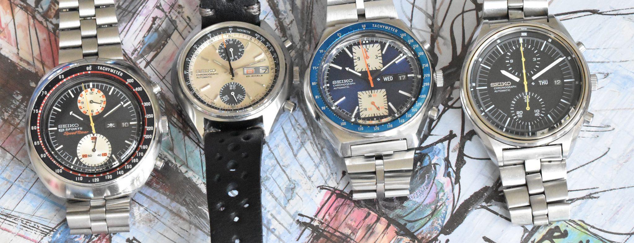 Seiko 6138 Vintage Chronographs