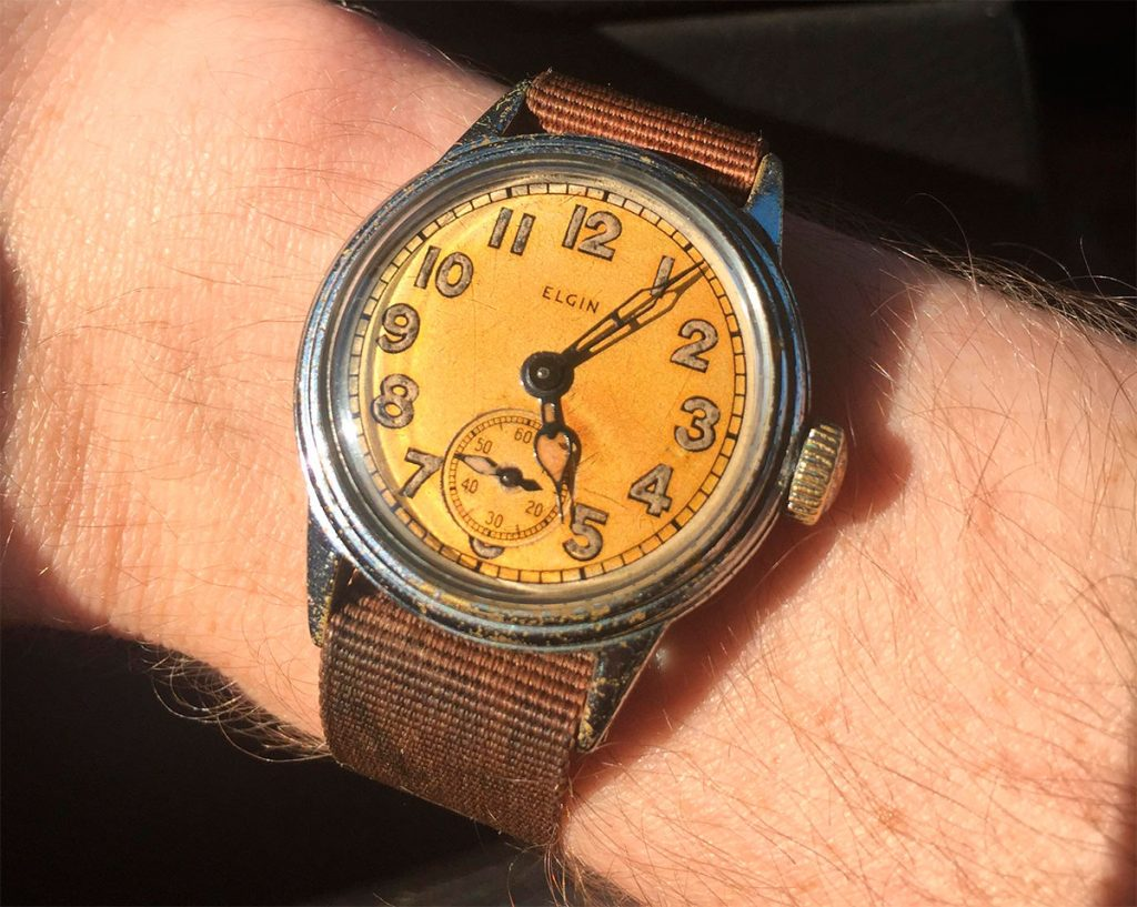 Elgin Military Watch