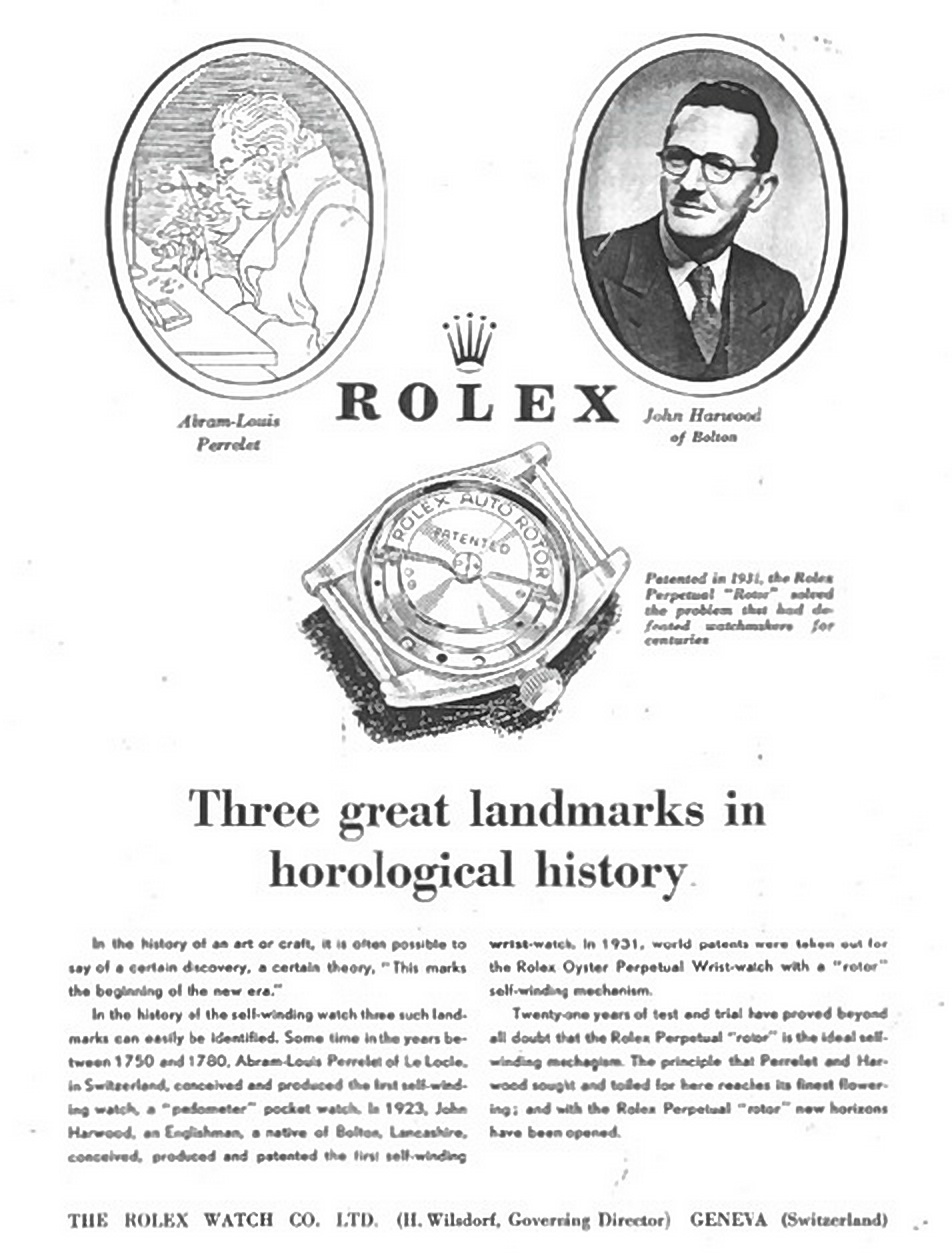 Rolex corrected their tale