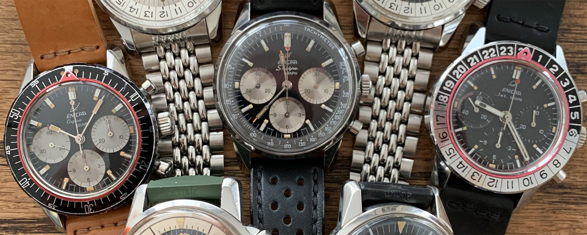 Enicar vintage watches