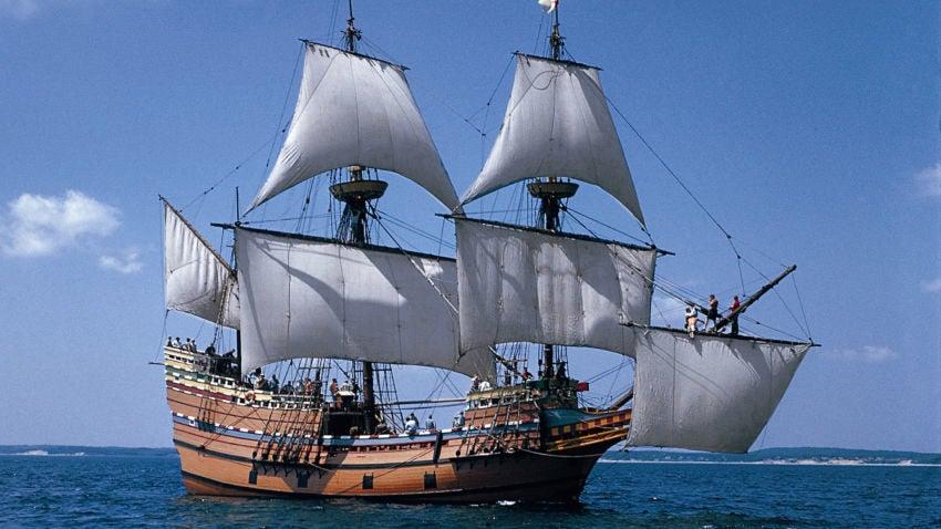 Mayflower II ship