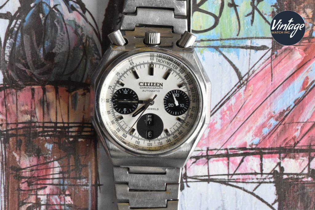 "Citizen ""Bullhead"" chronograph"