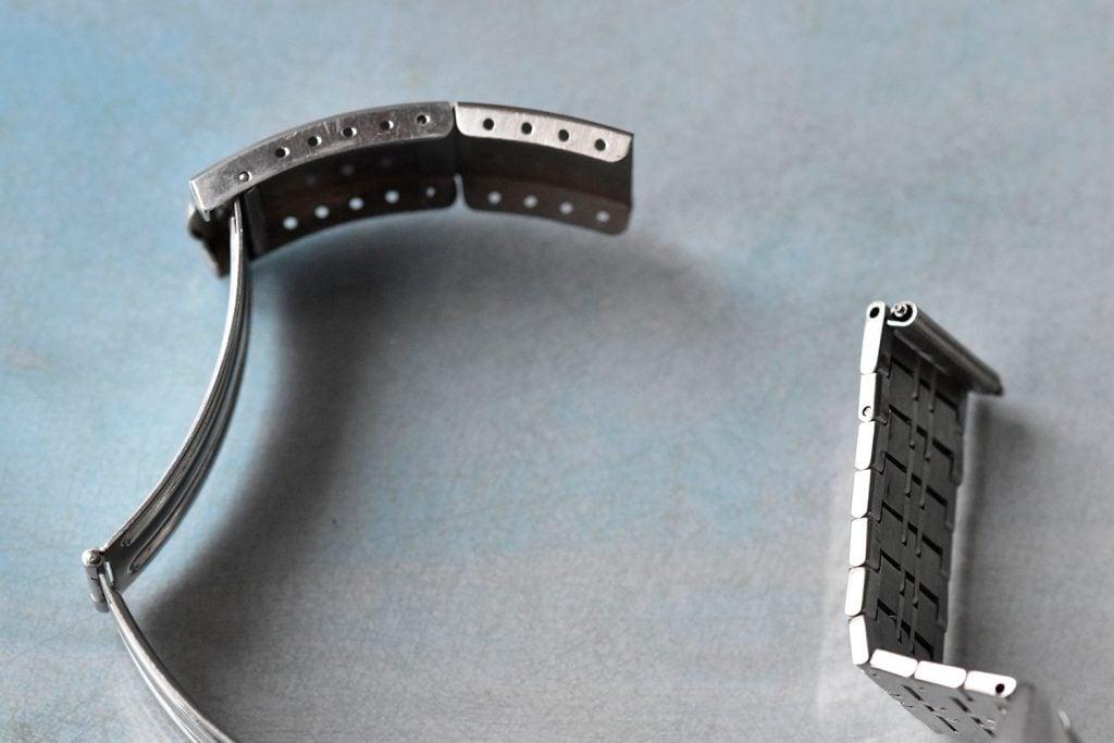 Extending vintage watch bracelet