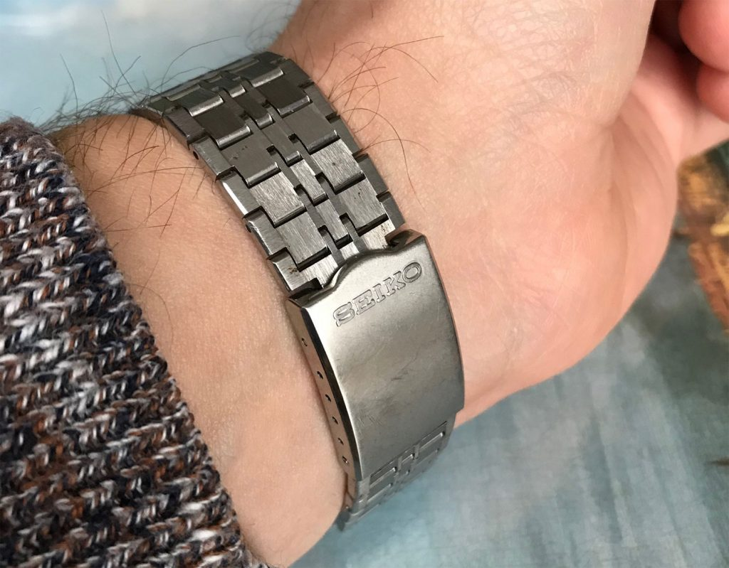 Seiko 7018 tight bracelet