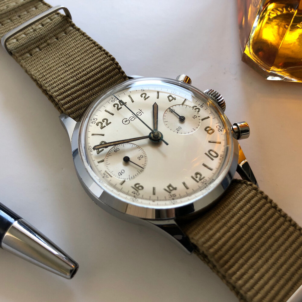 Gallet 24 hours multi chronograph