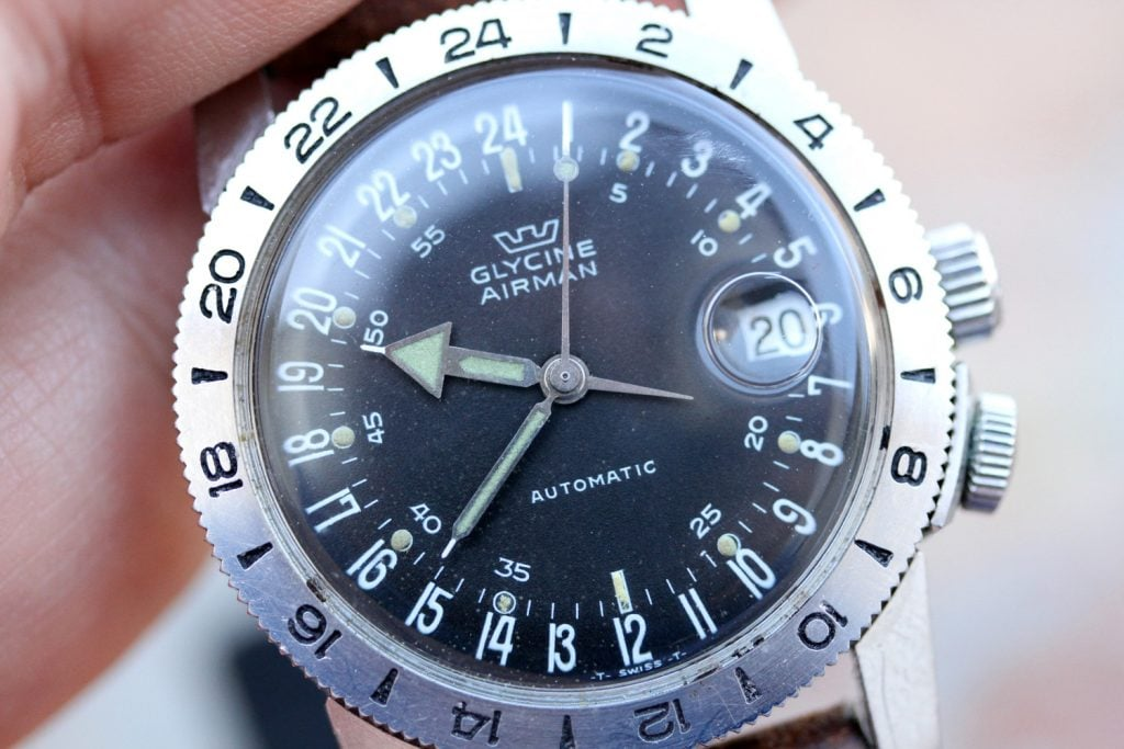 Glycine Airman 24-hours watch