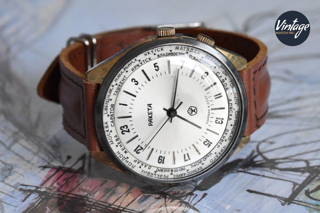 Raketa 24-hours World Time