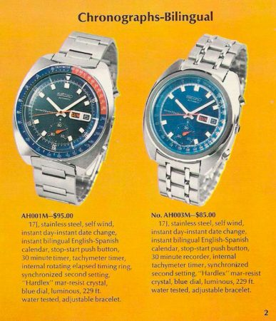 Seiko 6139 Chronograph Models Guide 44