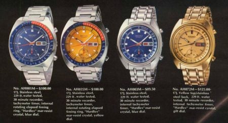 Seiko 6139 Chronograph Models Guide 45