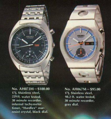 Seiko 6139 Chronograph Models Guide 46