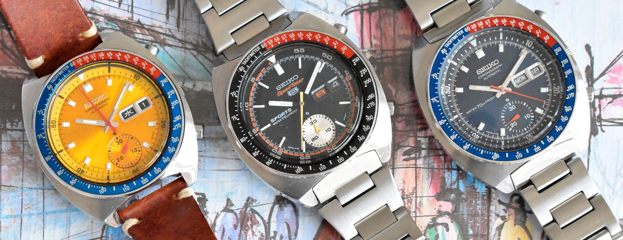 Seiko 6139 chronographs models guide
