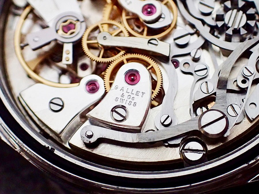 Gallet chronograph movement