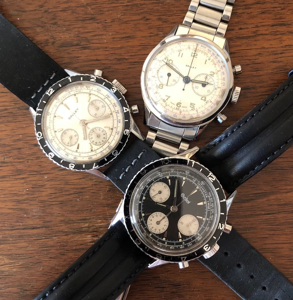 Gallet Vintage Watches