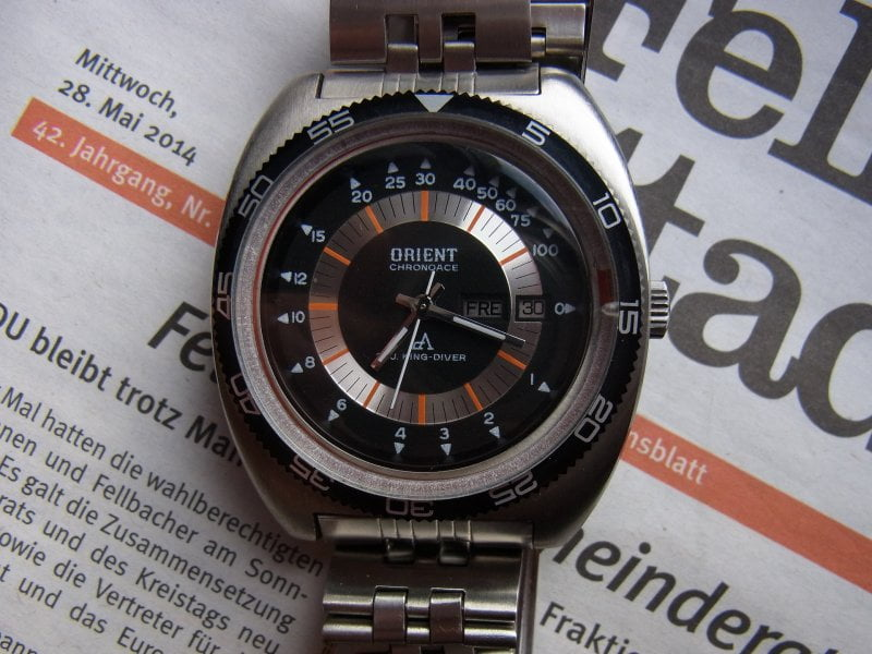 Orient Chrono Ace King Diver