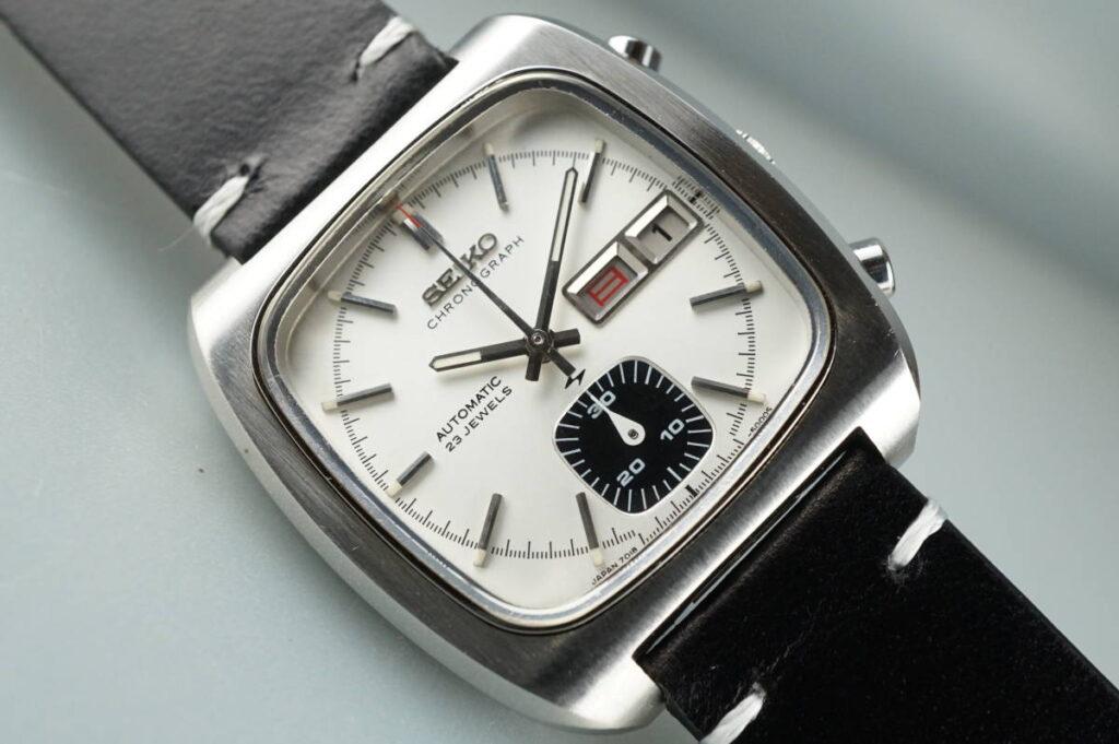 Seiko 7018-5001 White Dial