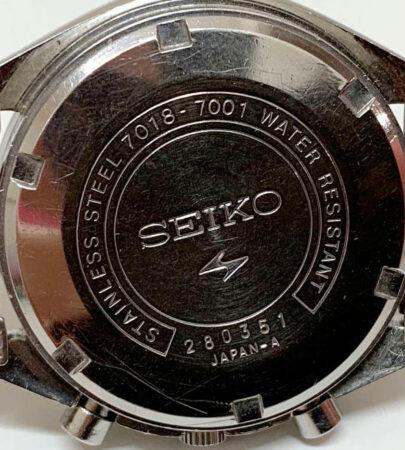 Seiko 7018 Vintage Chronographs Guide 43