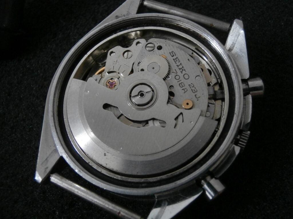 Seiko 7018 movement