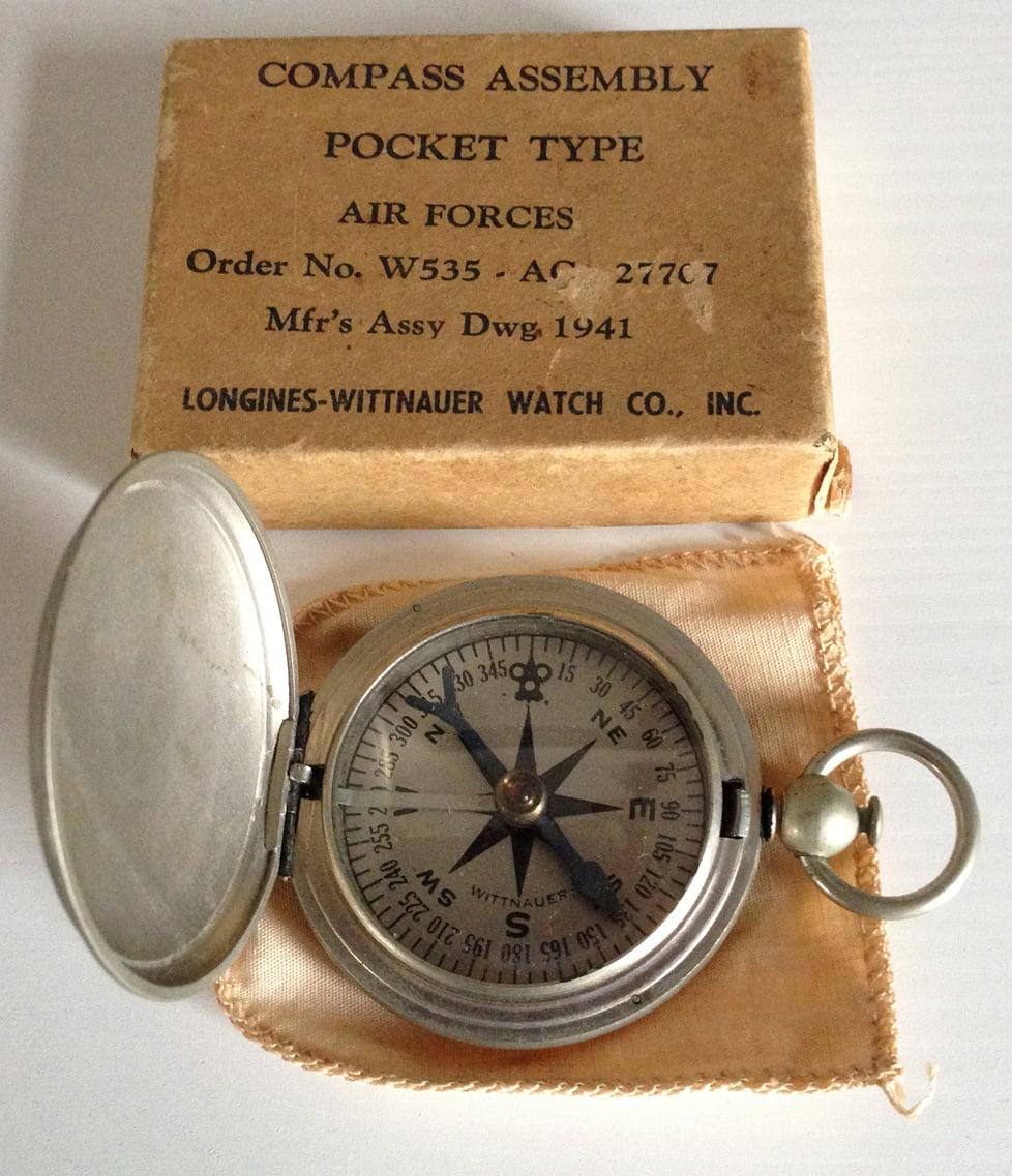Wittnauer Vintage Compass