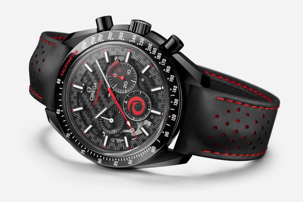 """Omega Dark Side of the Moon """"Alinghi"""" edition"""