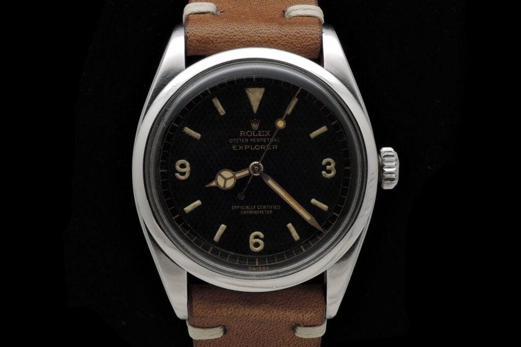Rolex Explorer I 6350 Honeycomb