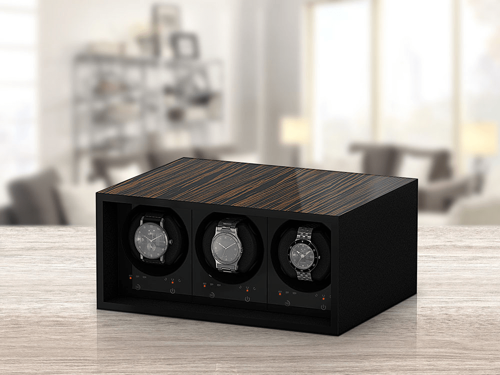 Watch winder for safe