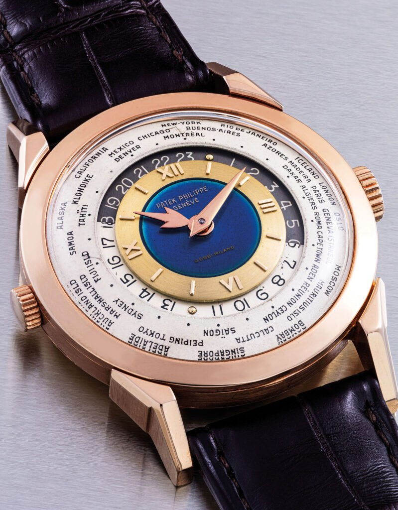 Patek Philippe 2523: the most expensive vintage world time watch