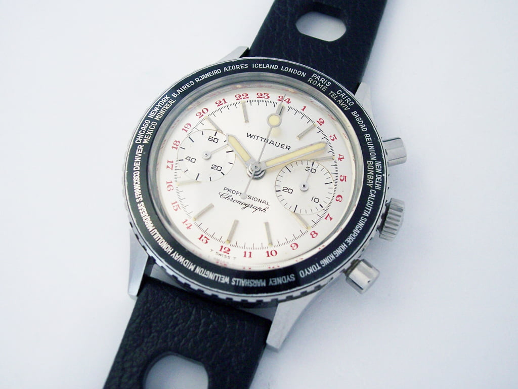 Wittnauer World Time Chronograph 7004B