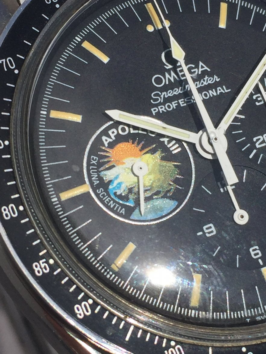 Dial of the Omega Speedmaster Professional Apollo XIII Limited Edition (1995)